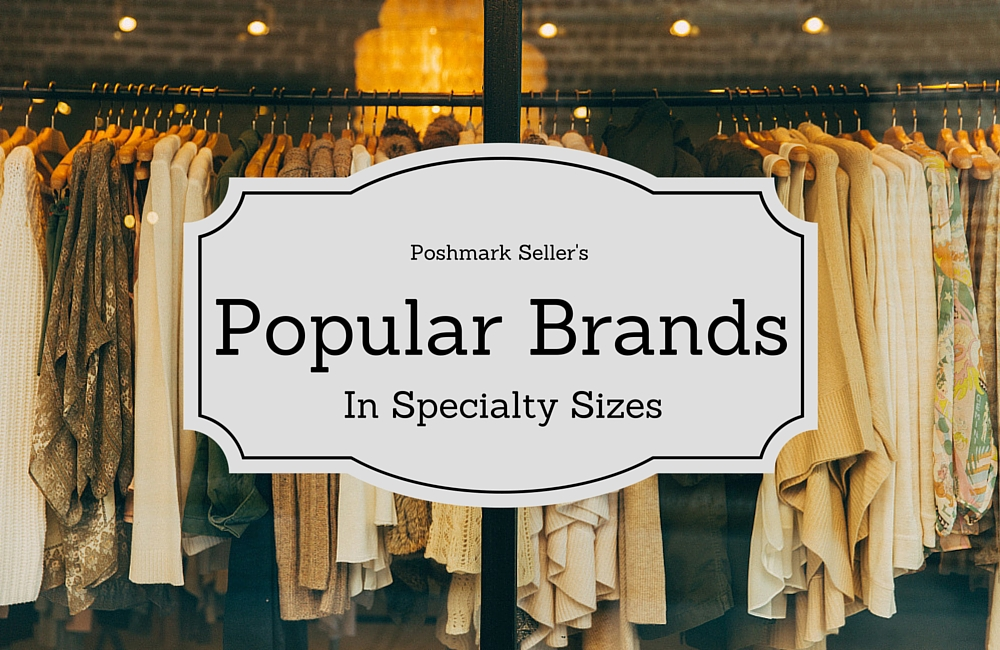 popular brands to sell on poshmark