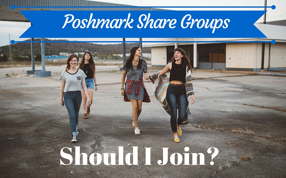 Poshmark share groups