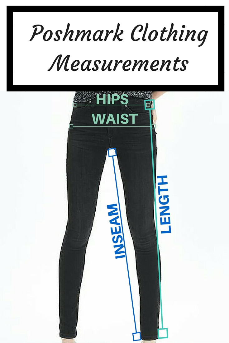 how to measure womens pants