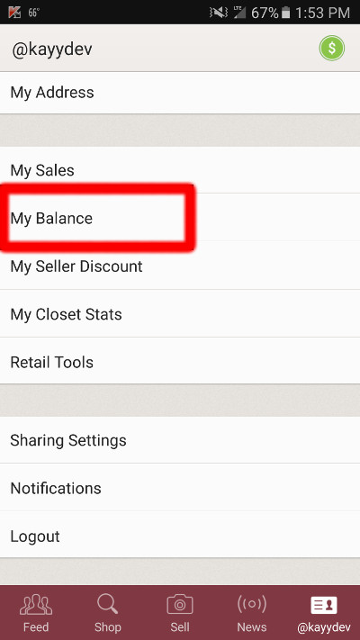 poshmark how to get paid