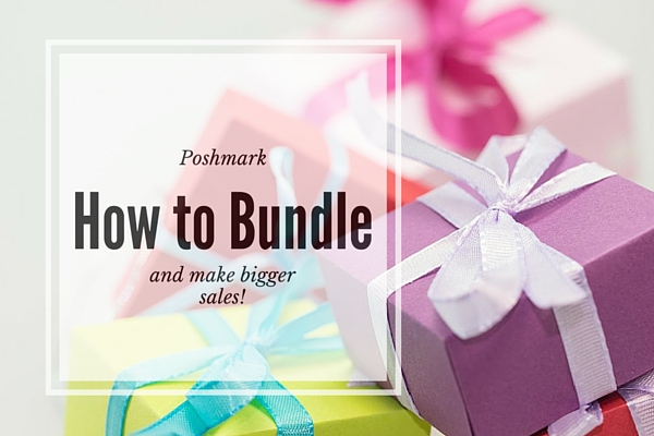 poshmark how to bundle