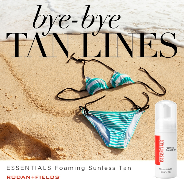 rodan and fields foaming sunless tanner