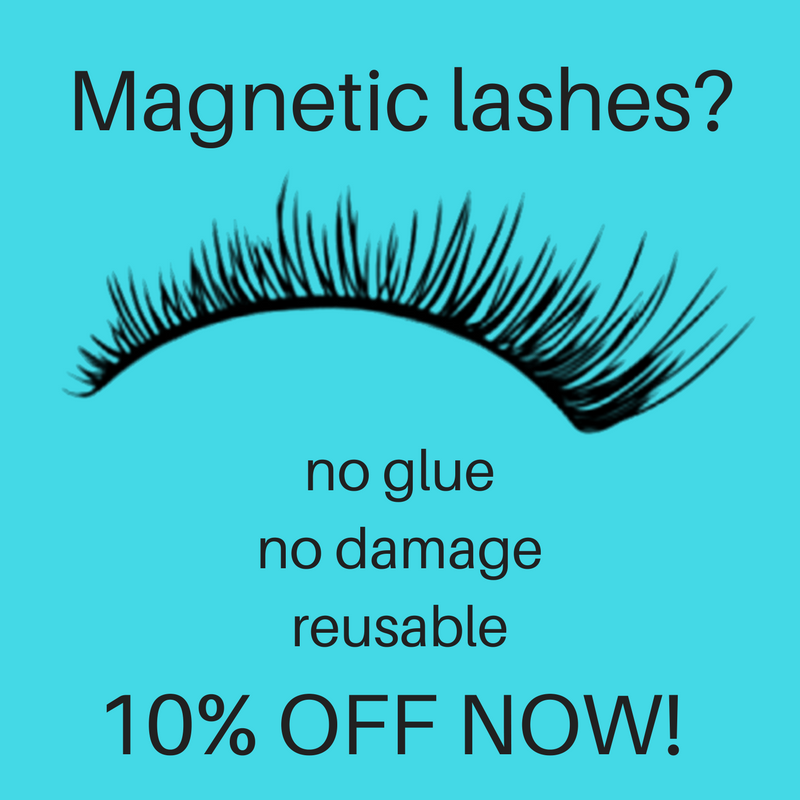 10% off magnetic lashes